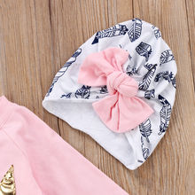 Baby Girl Clothes 3Pcs Set Outfits 0-4Y