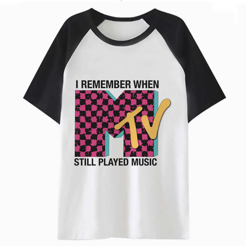 3a9345b8 mtv t shirt streetwear hop top harajuku t-shirt tee funny men clothing for  hip