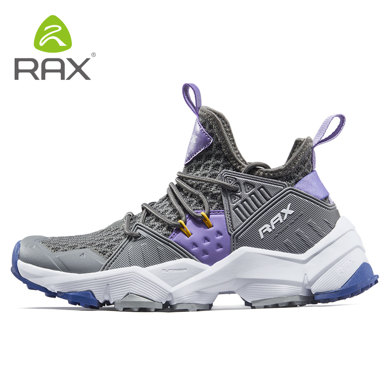 Rax 2019 new style Wome 39 s Hiking Shoes Breathable Light Outdoor Sports Sneakers Female Trekking Shoes Antislip Mountain Shoes in Hiking Shoes from Sports amp Entertainment