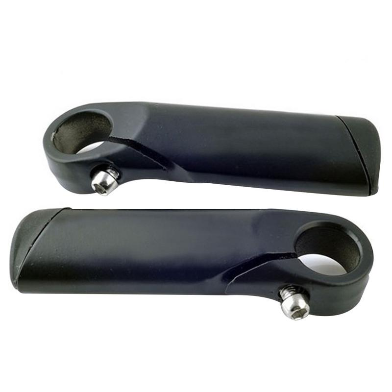 1 Pair Aluminum Alloy Mountain Bicycle Handlebars Auxiliary Riding Horn Rest Bike Accessories