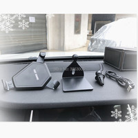 Car Wireless Charger Car Phone Holder For hyundai i30 skoda h7 volkswagen golf 4 ford focus 3 toyota auris seat exeo