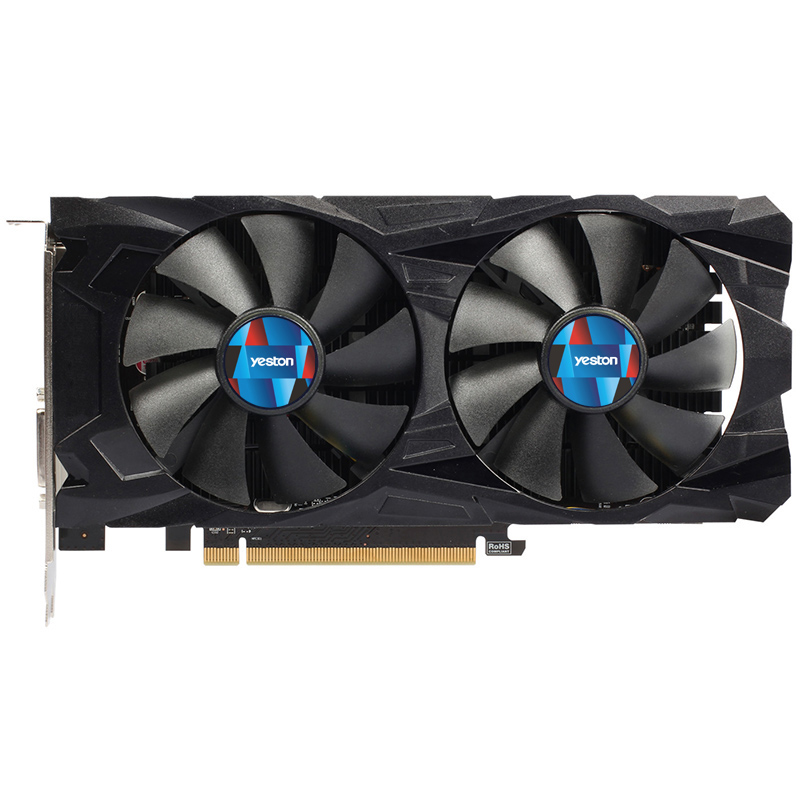 Yeston Radeon Rx550 4Gb Gddr5 Pci Express 3.0 Directx12 Video Gaming Graphics Card External Graphics Card For Desktop