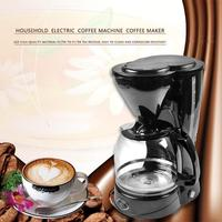 800W High Quality CM 123A Household Electric Coffee Maker Drip Coffee Maker Machine Teapot Coffee Pot for Home Office