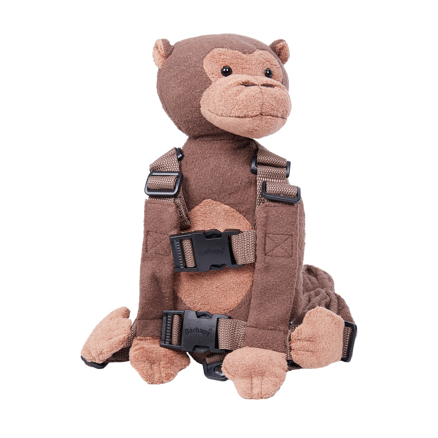 Mokey Safety Harness Leash Strap Baby Kids Toddler Walking Cosplay Backpack Reins Bag