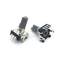 5 шт. 360 градусов Поворотный кодировщик EC12 RE12 аудио кодирование 3-контактный 24 положения без кнопочного переключателя длина ручки 15 мм