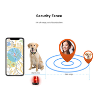 Pet GPS Tracker Dog Cat Collar Water Resistant GPS Callback Function USB Charging GPS Trackers For Universal Dogs Drop Shipping