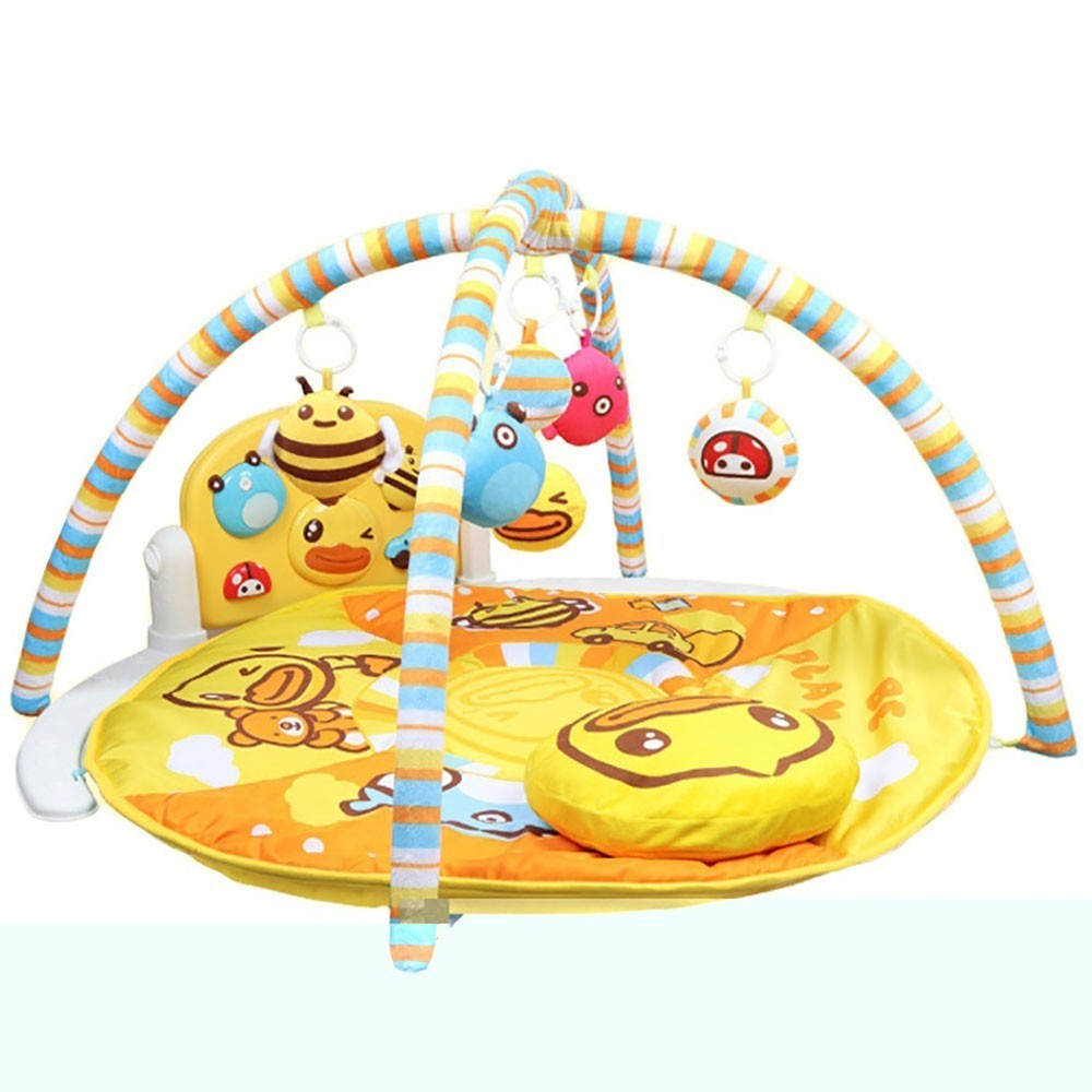 Baby Play Mat Kids Rug Educational Puzzle Carpet With Piano Keyboard And Cute Animal Playmat Baby Gym Crawling Activity Mat Toys Play Mats     - title=
