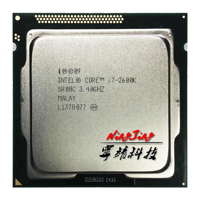 Intel Core i7-2600K i7 2600K 3.4 GHz Quad-Core CPU Processor 8M 95W LGA 1155