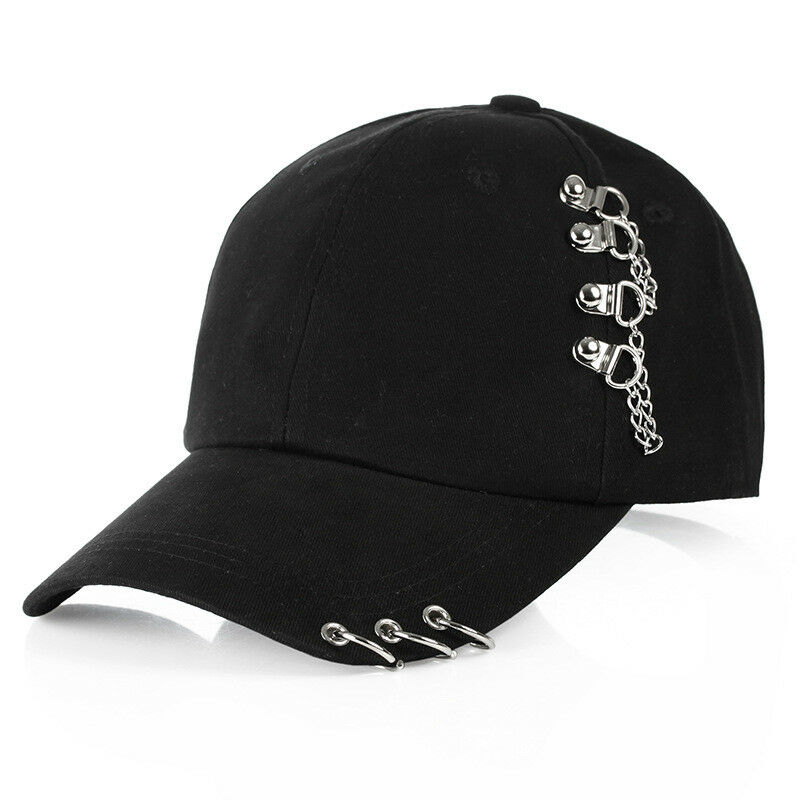 Hat Cap Rings Baseball Snapback Golf-Ball Trucker Pink Black Sport White Women Fashion