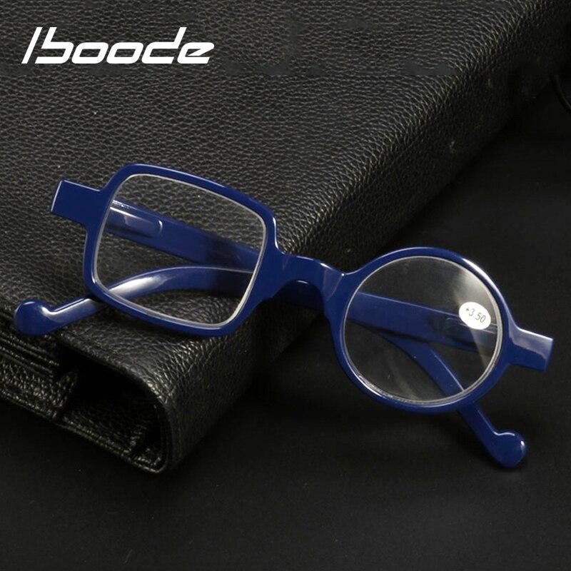 Iboode 2019 New Unisex Reading Glasses Irregular Frame Resin Presbyopia Glasses Women Men Hyperopia Reading Eyeglasses +1.0~3.5