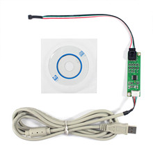 4 Wire Resistive แผงสัมผัส LCD คอนโทรลเลอร์ USB Port Touch หน้าจอ DRIVER