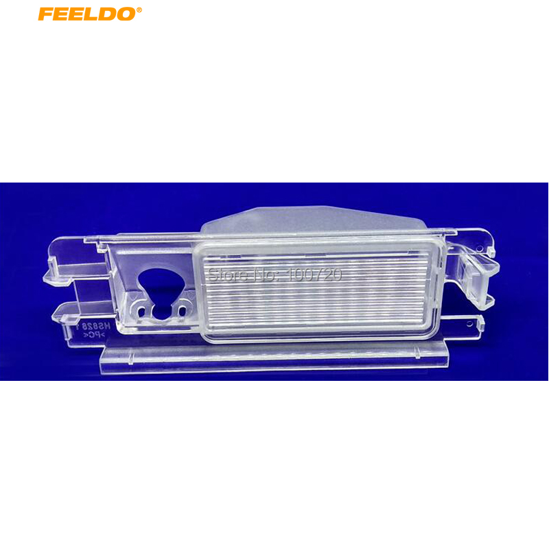 Пластиковая рамка FEELDO для камеры Renault Dacia Sandero 2013 # FD3148-1371
