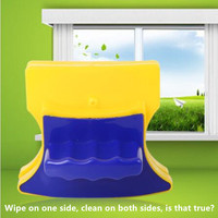 Double Sided Magnetic Window Cleaner For Single/Double Glazing Windows Washing Brush Magnet Glass Wiper Household Cleaning Tools|Cleaning Brushes| |  -