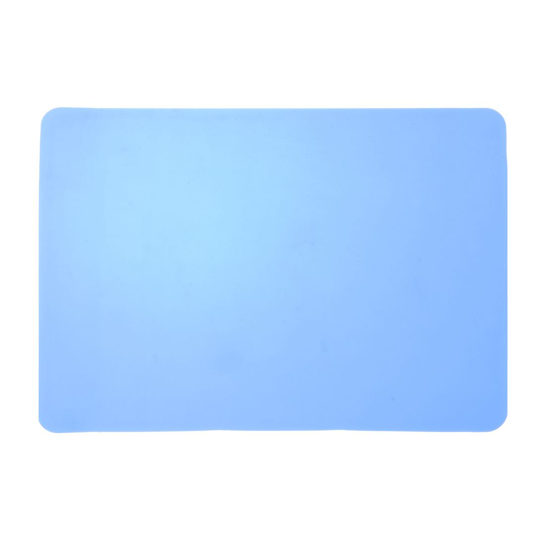 Rectangle sky blue Silicone Nonslip Mouse Pad Mat for Computer