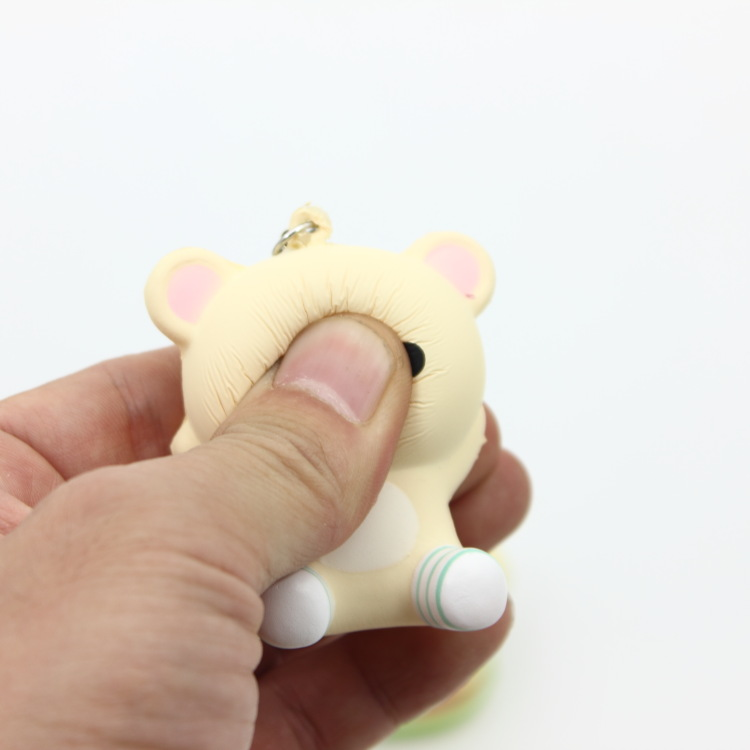 Automobiles Free Shipping 5cm Original Kawaii Squishy Rilakkuma Macaron Cake Queeze Toys Cell Phone Handbags Straps Squishies Bread Collectibles