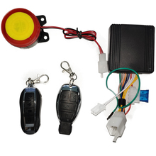 12V 125DB Universal Motorcycle Bike Alarm System Moto Remote Control Engine Start + Alarme Speaker