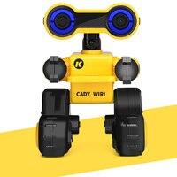 JJRC R13 RC Robot YW CADY WIRI Power Robot Remote Control Intelligent Science Exploration Wisdom Explorer Toy With RGB Lights