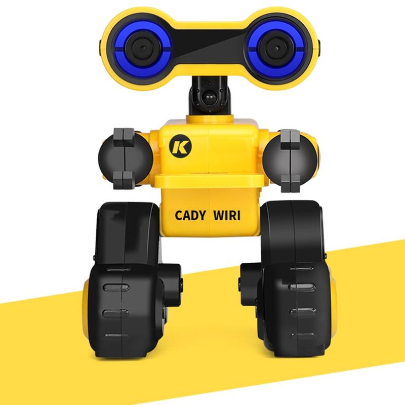 JJRC R13 RC Robot YW CADY WIRI puissance Robot télécommande intelligente Science Exploration sagesse explorateur jouet avec lumières rvb