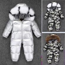 Mono de plumas para bebé, ropa de invierno gruesa para niños y niñas