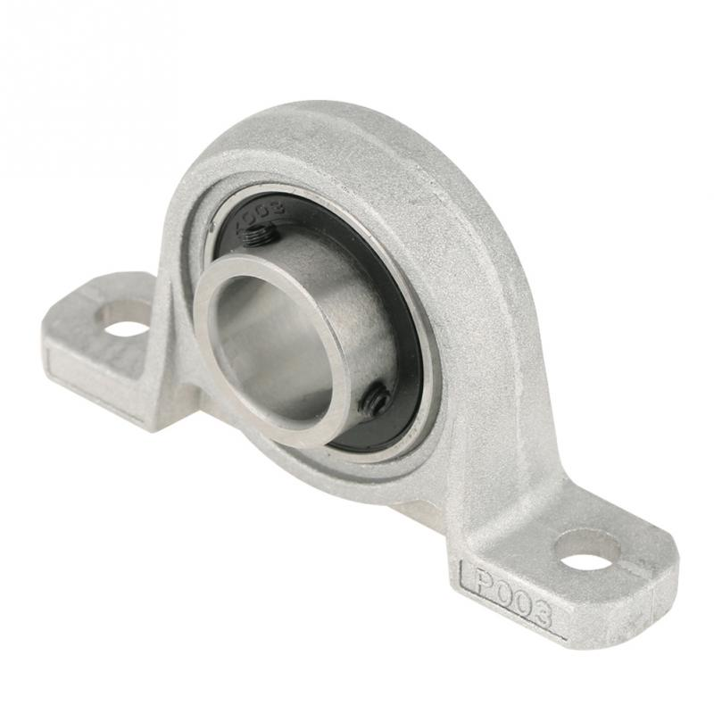 1Pc 17mm KP003 Zinc Alloy Mounted Pillow Block Bearing Mechanical Parts Guided Shaft Accessories For Food Machine Wholesale