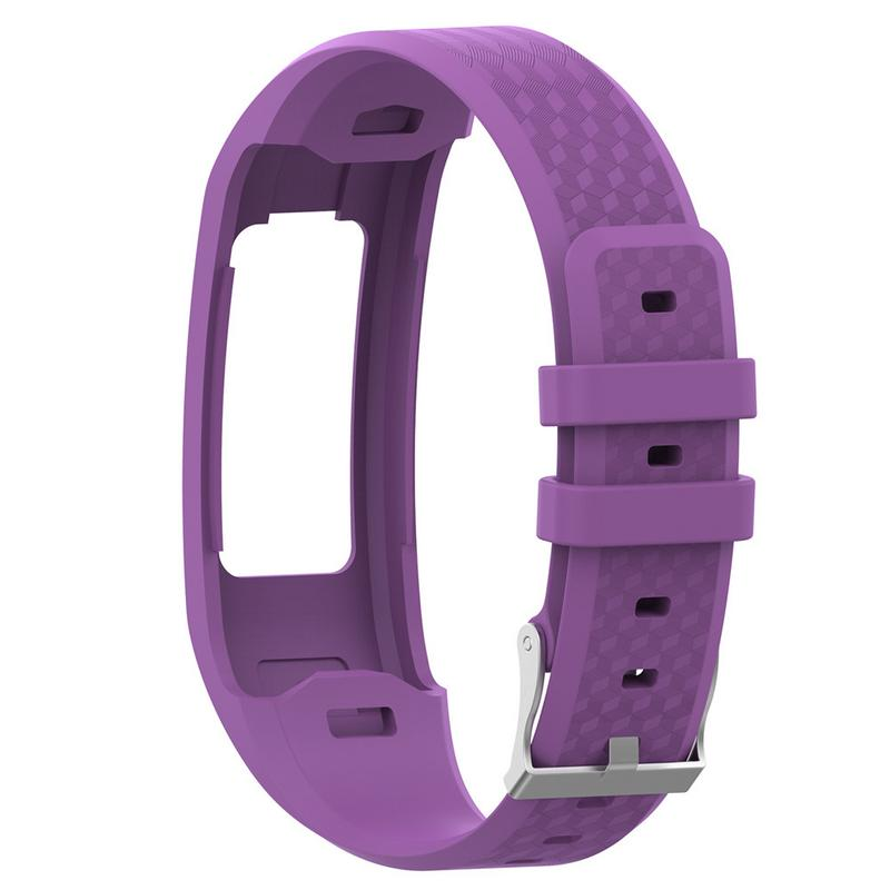 Image 3 - Comfortable Watch Band Silicone Replacement Wrist Strap Breathable Soft Bracelet For Garmin VivoFit 1 Generation 2 Generation-in Smart Accessories from Consumer Electronics