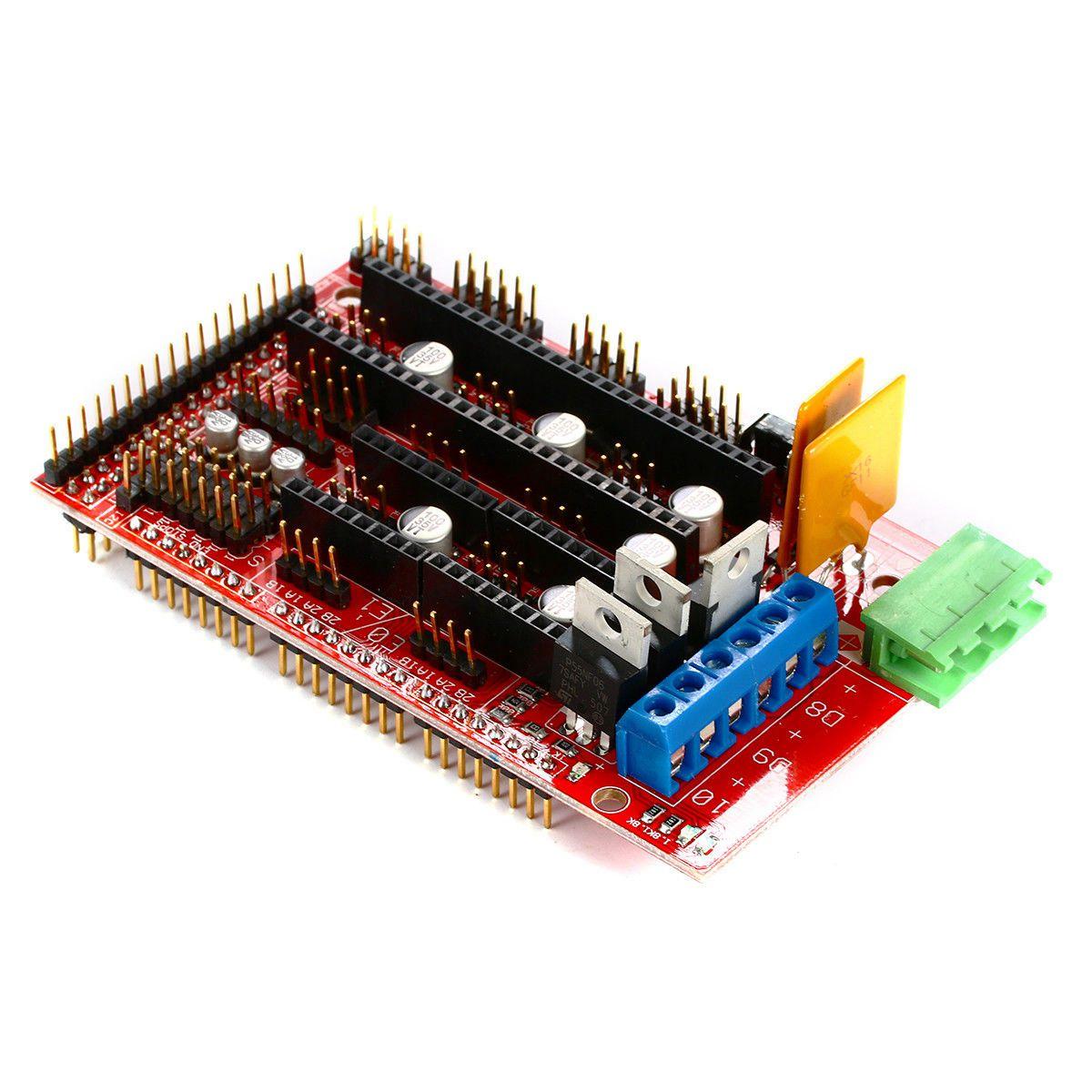 Kit imprimante 3D, rampes 1.4 + Mega 2560 + MK2B Heatbed + contrôleur I3 Suit 12864 - 6