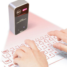 цена на Wireless Laser Projection Bluetooth Virtual Keyboard for Iphone, Ipad, Smartphone and Tablets,Full size Keyboard