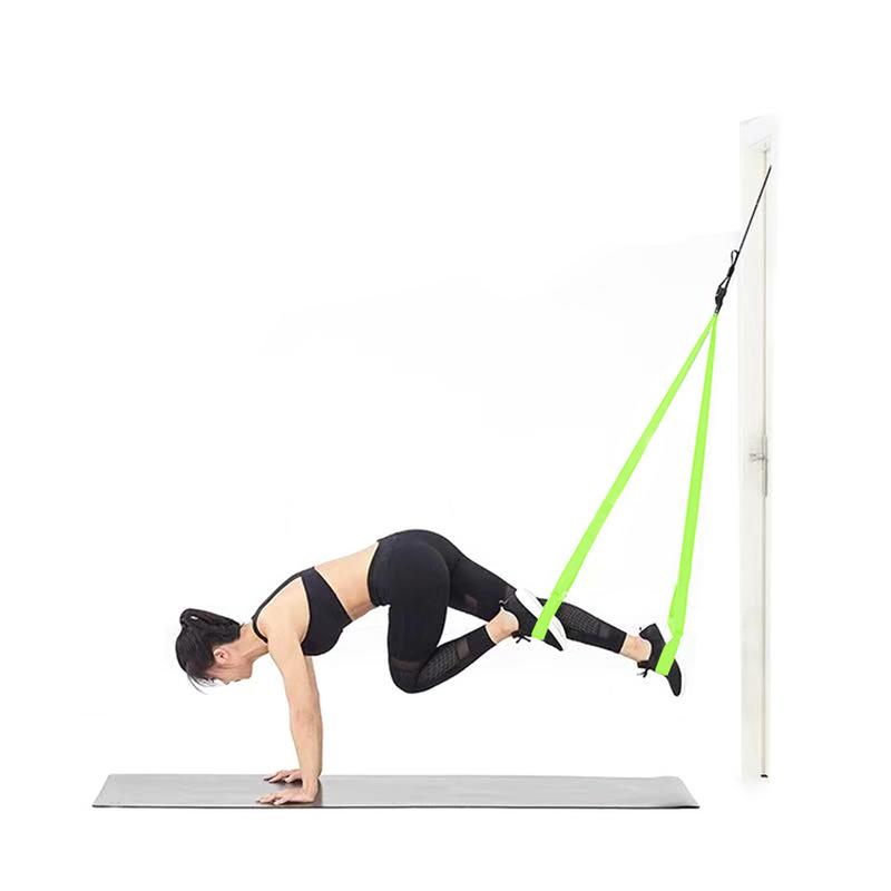 Resistance Band Set Weight Resistance Band Fitness Training Kit Suspension Trainer with Indoor Outdoor Anchors Resistance Band