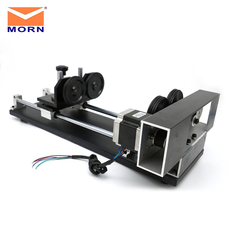 CNC Laser Engraver Cutter Rotary System for Machine with Water Cooling Alarm System