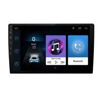 9 2DIN Универсальный ультра тонкий Android 7,1 сенсорный экран четырехъядерный 1 + 16G автомобильный стерео с радио, gps, wifi DVD LTE BT DAB Зеркало Ссылка OBD