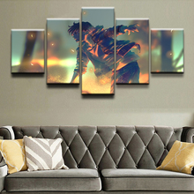 Wall Art Modular Picture 5 Pieces Anime Original Boy Role Painting Living Room Home Decor Posters Modern Top-Rated Canvas Print top posters холст страсть top posters 50х100х2см g 1018
