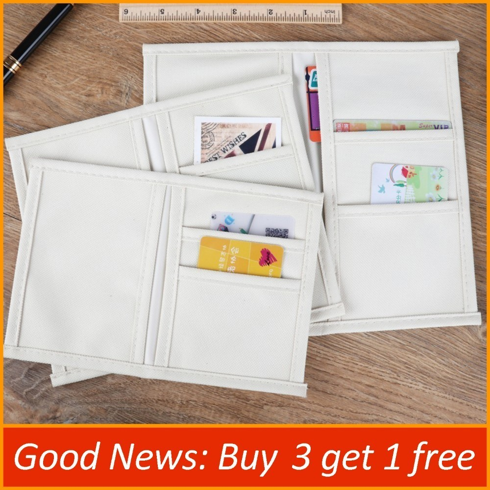 Genuine Leather Notebook Dairy Oxford Fabric Refill Filler Pocket Case Bag Pouch Organizer For Name ID Card Invoice