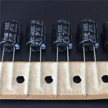 10 pces 10 uf 200 v suncon (sanyo) faz série 10x12.5mm 200v10uf baixa impedância alumínio capacitor eletrolítico