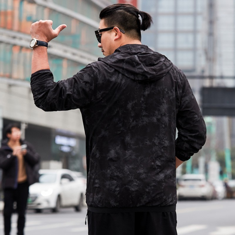 8xl Automne Camo À Coupe Veste Homme Manteaux Camouflage Grande Taille Vêtements Hommes Capuche De Printemps 7x vent Noir Casual wPZOXuiTk