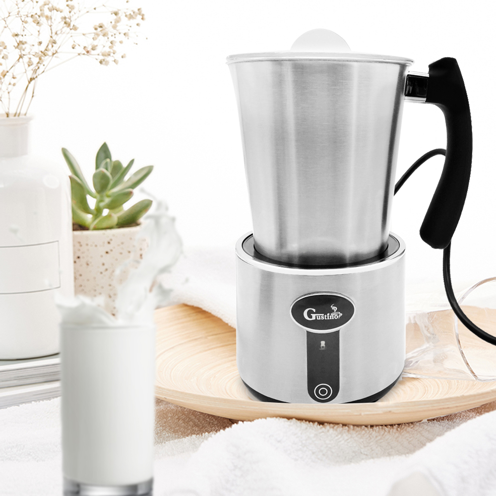 Gustino GS 506 Electric Milk Frother Foamer Frothing Warmer Foam Coffee Maker Machine 230ml