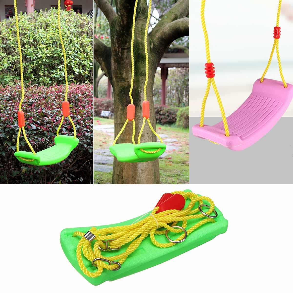 U-образное поворотное сиденье для маленьких детей, детская игрушка для помещений, для улицы, сада, Регулируемая Веревка, чистящая щетка 37x17 см, для занятий спортом в помещении