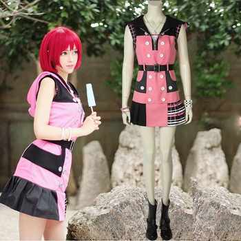 Anime Game Kingdom Hearts 3 Dream Drop Distance Cosplay Kairi Princess of Heart Costume Carnival Adult Halloween Party Dress - DISCOUNT ITEM  35% OFF All Category