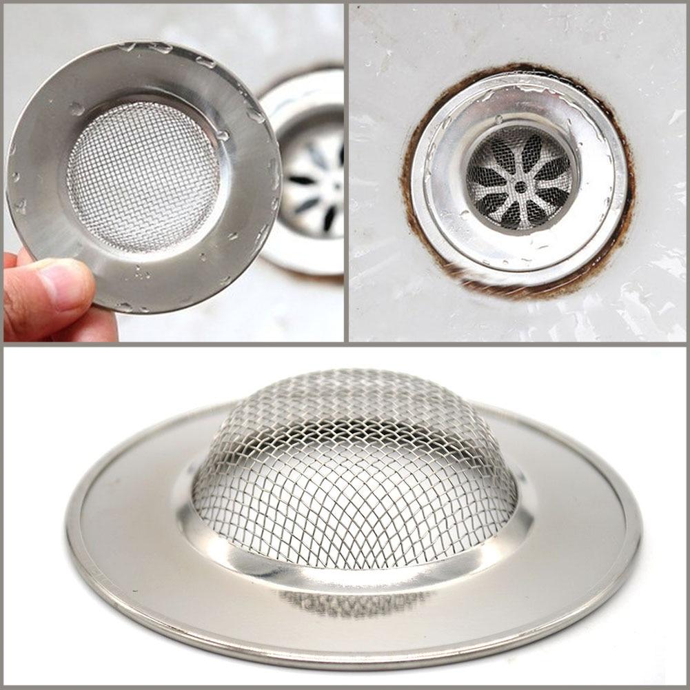 Fashion Bathtub Hair Catcher Stopper Shower Drain Hole Filter Trap Metal Sink Strainer Drop Shipping