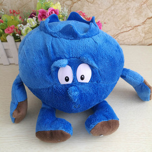 Image 4 - Multiple Styles Selected New Fruits Vegetables Cabbage Pineapple Blueberries Stuffed Plush Doll Toy for Croatia Kids Children