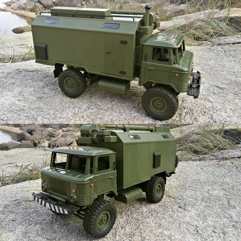 WPL B24 EN GASS 66 1/16 2.4G 4WD RC voiture roche chenille RTR télécommande jouet pour enfants cadeaux adultes