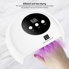 36 Вт светодиодный Сушилка для ногтей лампа для лака для ногтей быстросохнущая лампа интеллектуальная индукция экологически чистый Прочный портативный