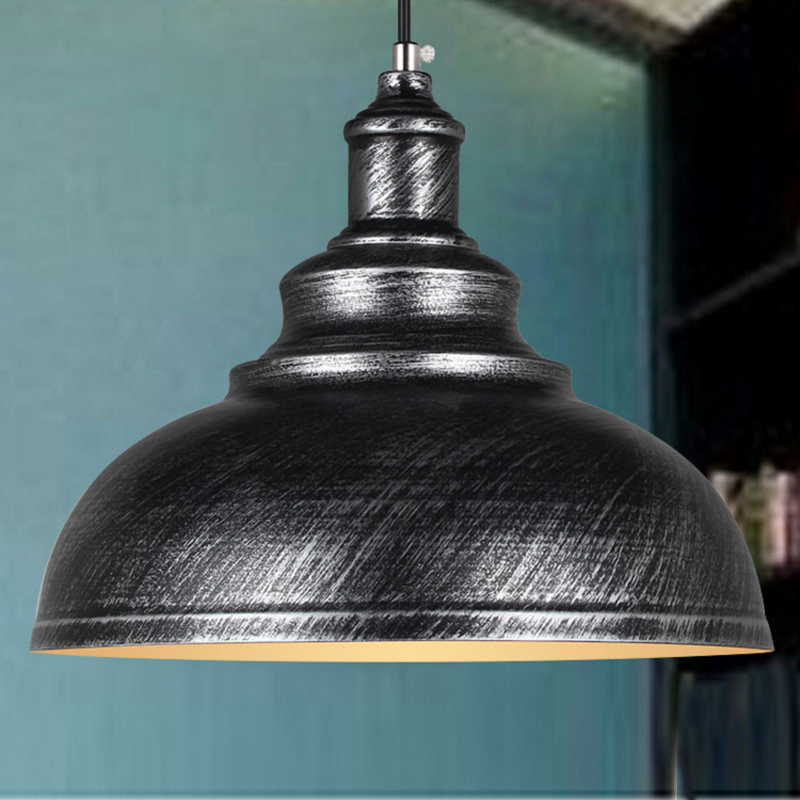 Vintage Industrial Pendant Retro Home Ceiling Light Metal Lamp Shade Fixture US