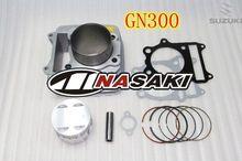 Kit cylindre grand alésage 78mm, pour SUZUKI GN250 GN 250 cc GN300 300, amélioration des performances