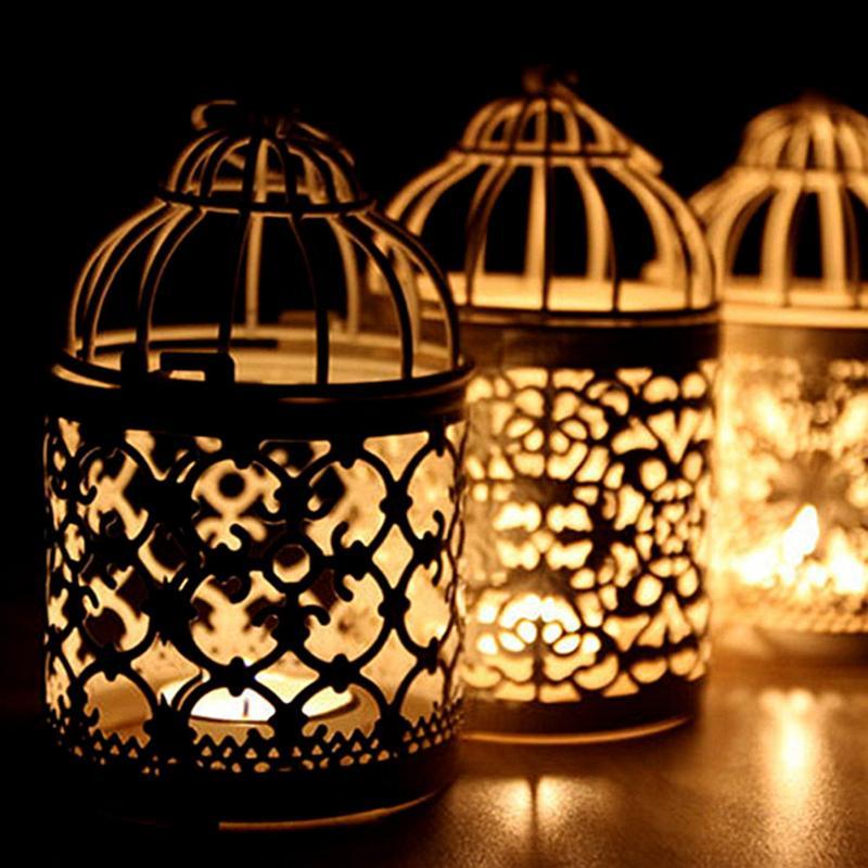 Hollow Hanging Candle Holder DIY Handmade Candles Jar ...