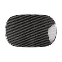 Carbon Fiber Fuel Tank Cap Sticker Trim Cover for C Class W205 2015 2018 Solid Color 261*164mm Exterior Accessories Car Styling