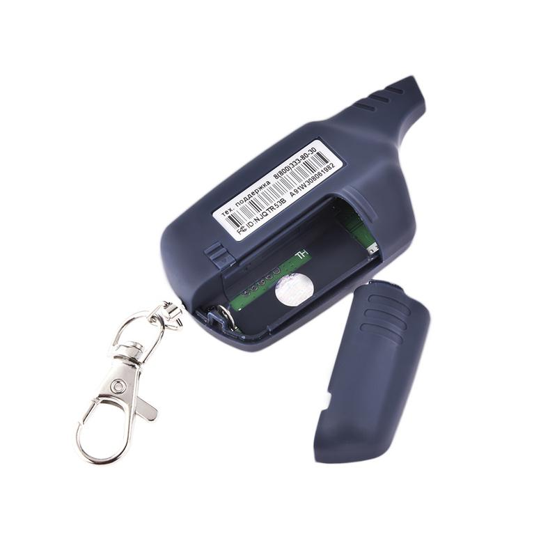Car Anti-theft System Durable Alarm Remote Control Accessories Black Fast Delivery