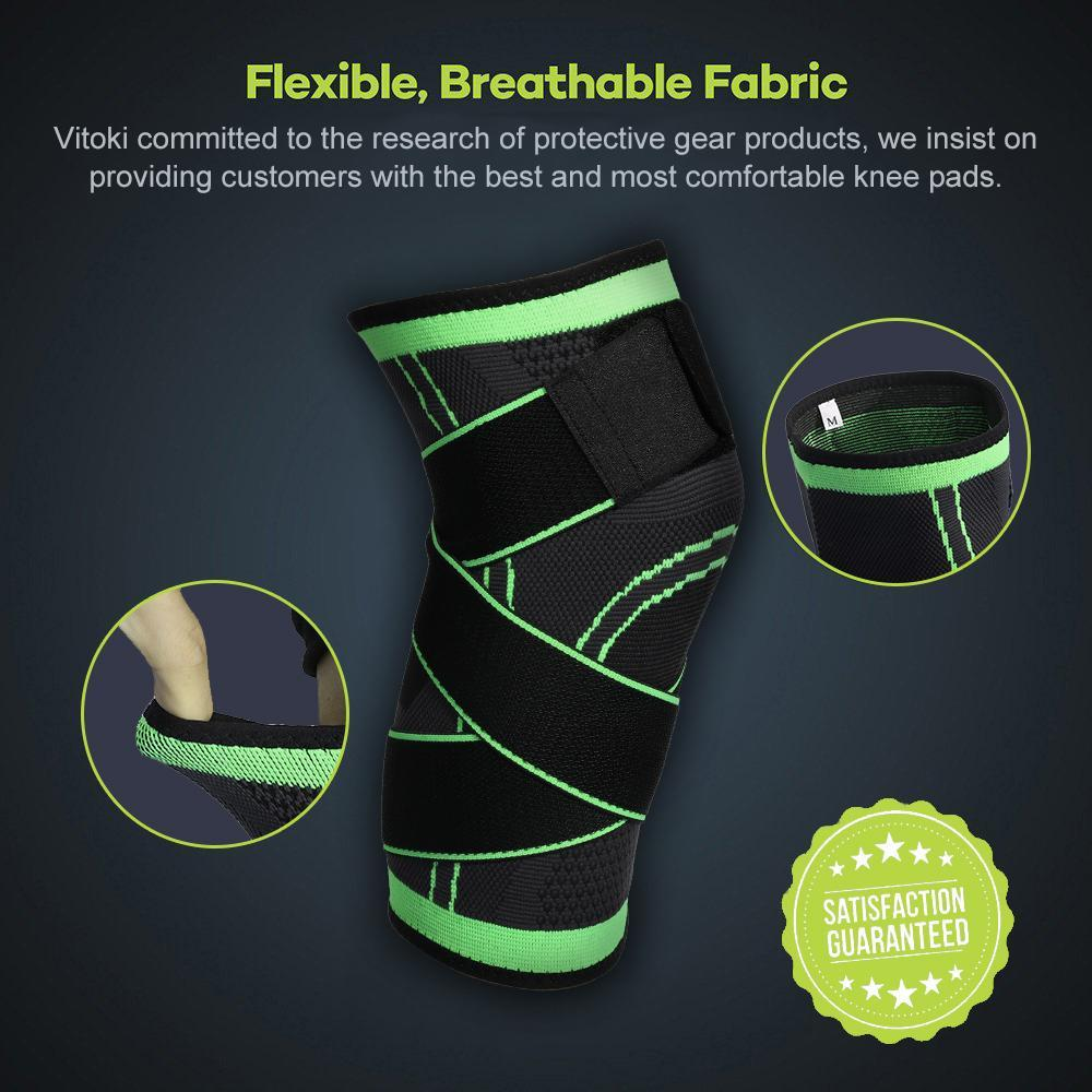 New Knee Sleeve Compression Fit Support Improved Circulation Compression Wear High Quality Fabrics