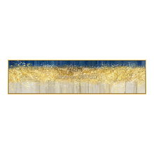 hand painted Gold tree acrylic abstract oil paintings Wall art on Canvas cuadros decoracion for living room wall