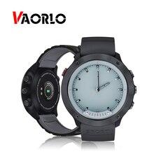 VAORLO M5 Smart Uhr Luminous Hände Herz Rate IP68 Wasserdicht Männer Smartwatch Band Edelstahl Uhr Für IOS Android
