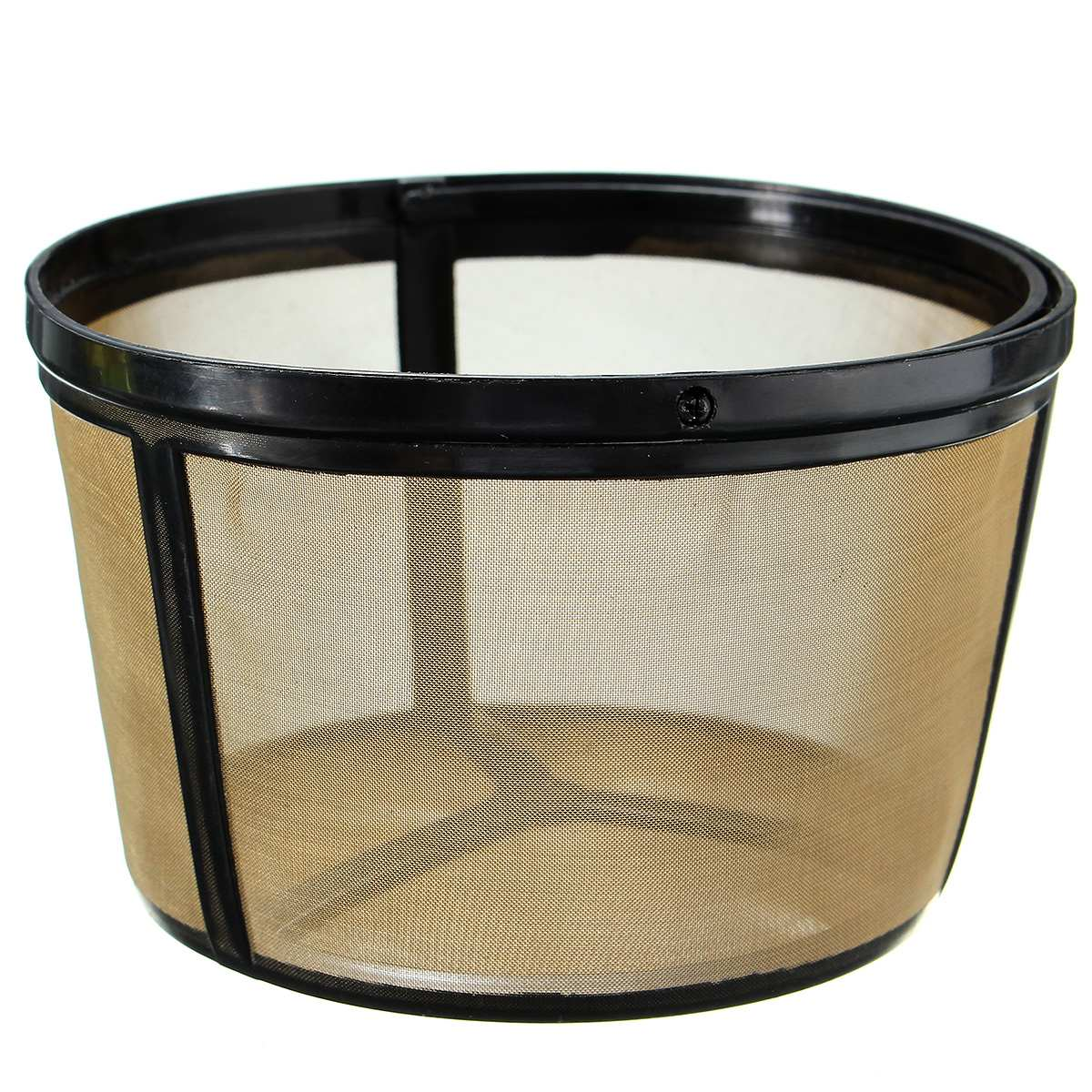 Brand New Washable Coffee Filter Basket Reusable Replacement For BUNN Coffee Brewer Maker  120mm
